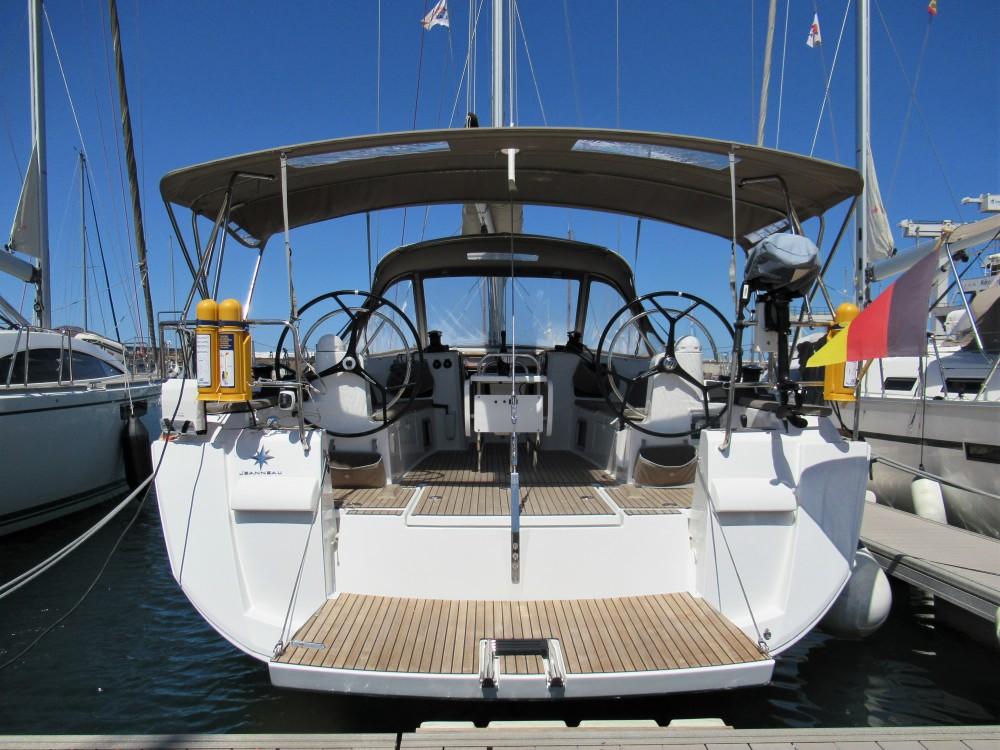 Rent a Jeanneau Sun Odyssey 479 Arrecife