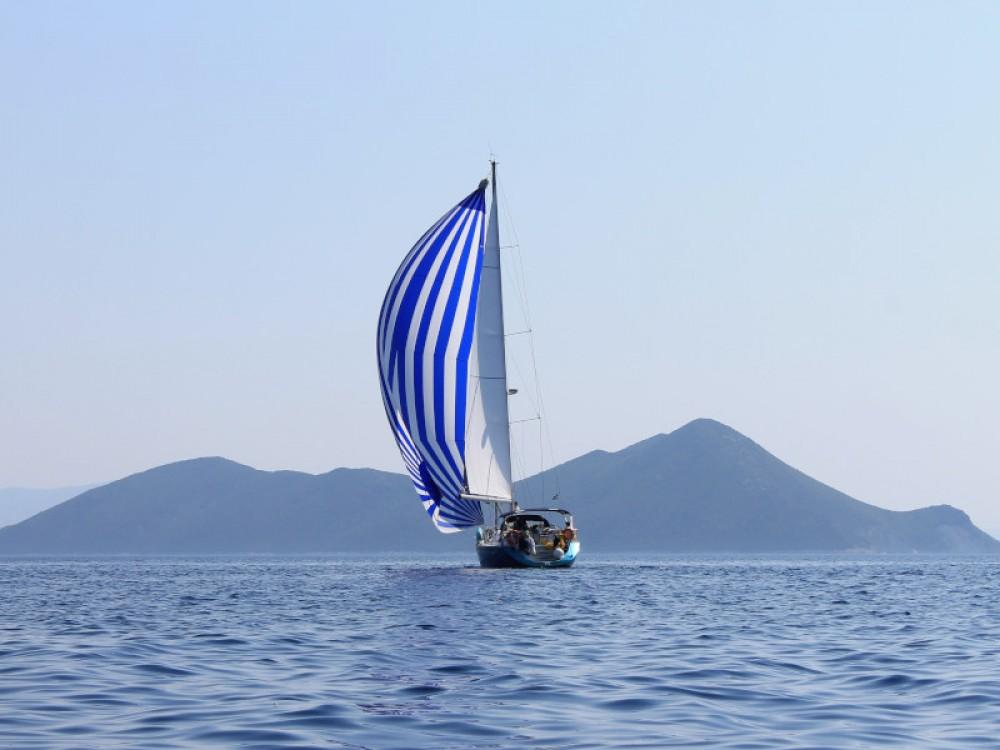 Boat rental Marina Gouvia cheap Sun Odyssey 54DS