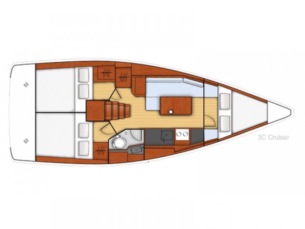 Rental Sailboat in Marmaris - Bénéteau Beneteau Oceanis 35
