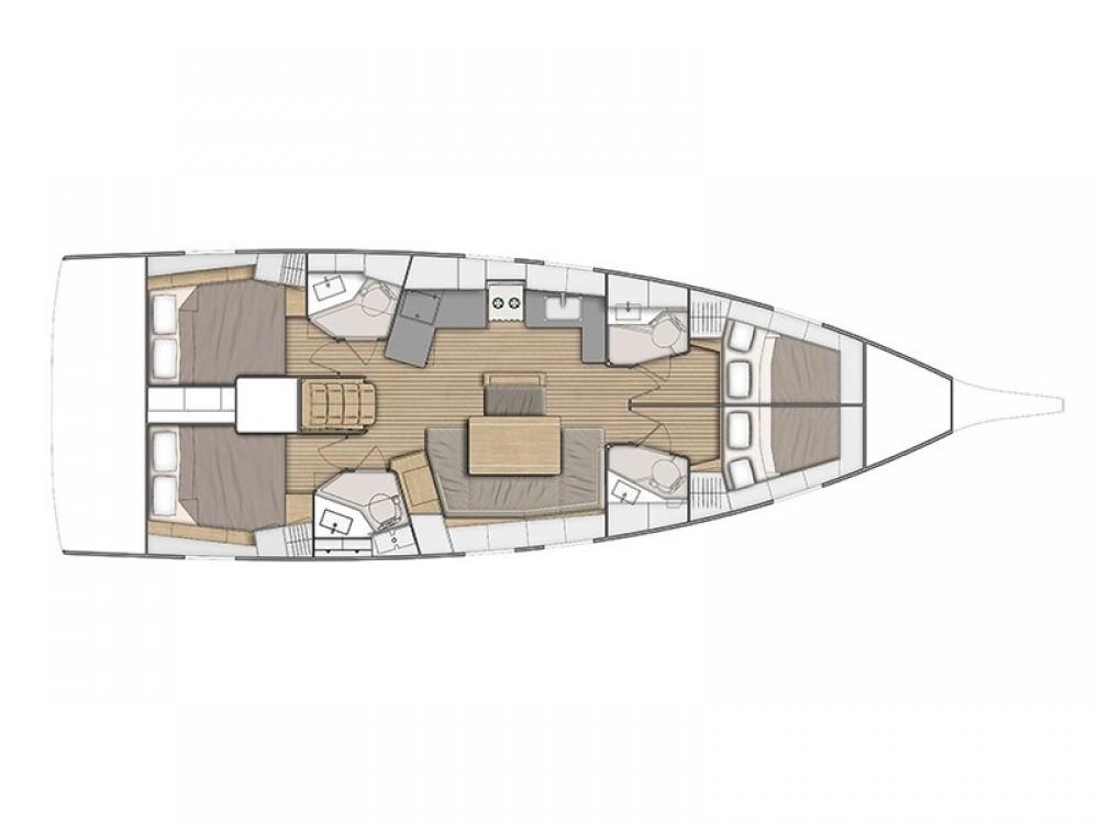 Rental yacht Marina d'Arechi - Bénéteau Oceanis 46.1 (4 cab) on SamBoat