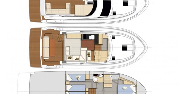 Rental yacht Alimos - Bavaria Bavaria Virtess 420 Fly on SamBoat