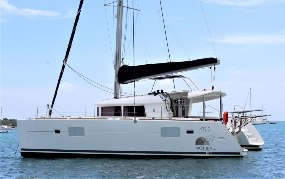 Rental yacht Marigot - Lagoon Lagoon 400 on SamBoat