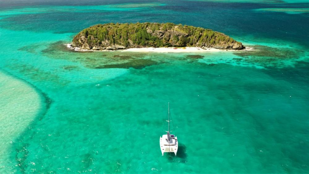 Rental Catamaran in Marigot - Lagoon Lagoon 400