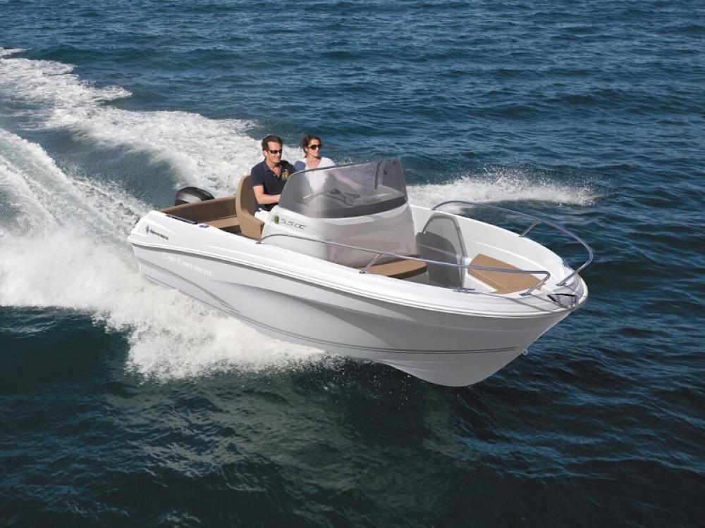Boat rental Jeanneau Cap Camarat 5.5 WA S2 in  on Samboat