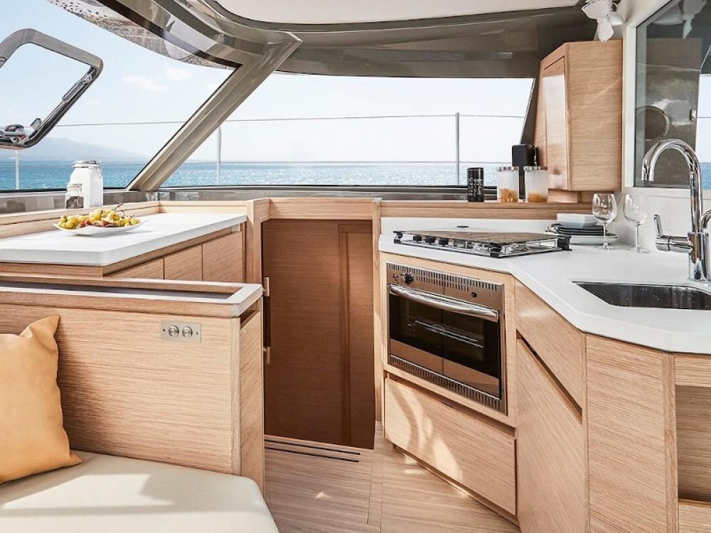 Boat rental Barcelona cheap Nautitech 40.1