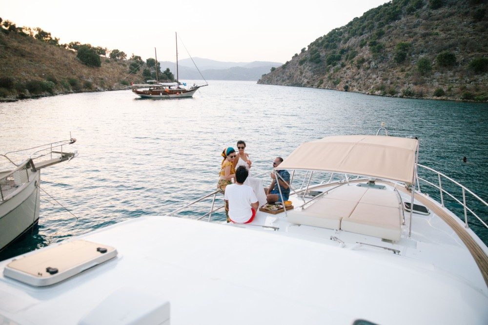 Yacht for rent Muğla at the best price