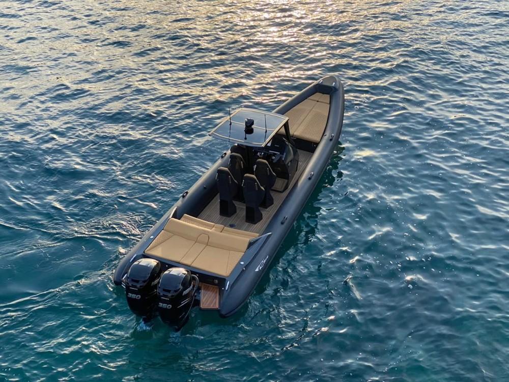 Boat rental Zadar cheap Seafarer 33