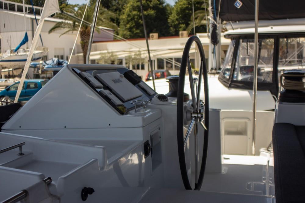 Rental Catamaran in Slano - Lagoon Lagoon 450 F (2018) equipped with generator, A/C (saloon+cabins), 2 S.U.P.