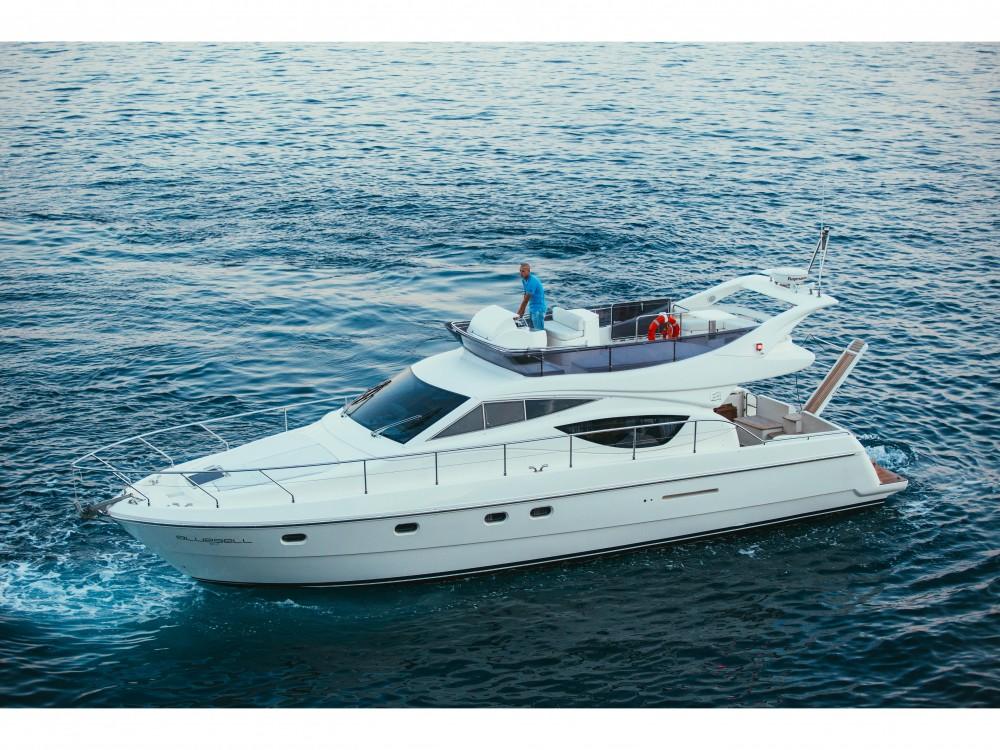 Boat rental Split cheap Ferretti 460