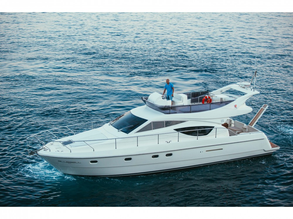Rental Motorboat in Split - Ferreti Ferretti 460