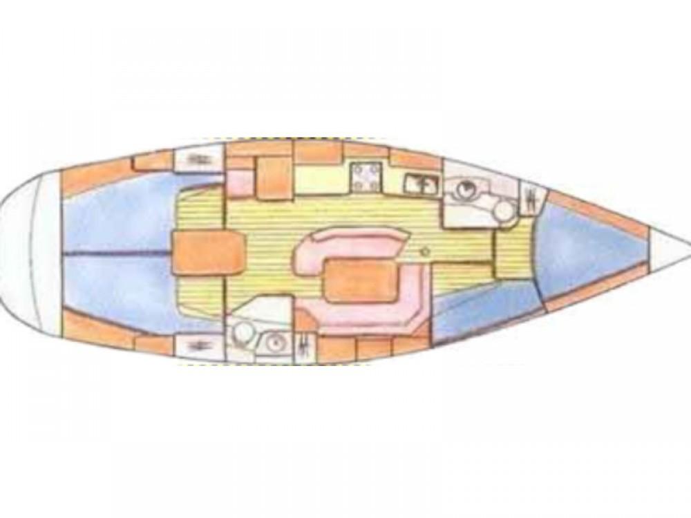 Rental Sailboat in Kontokali - Jeanneau Sun Odyssey 42.2
