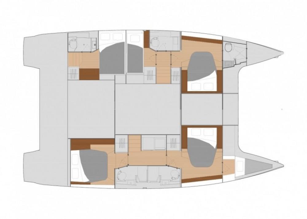 Rental yacht Capo d'Orlando - Fountaine Pajot Saona 47 on SamBoat