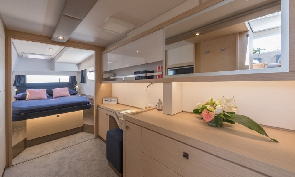 Fountaine Pajot Saona 47 between personal and professional Capo d'Orlando