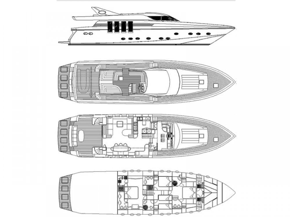 Boat rental  cheap Posillipo Technema 82