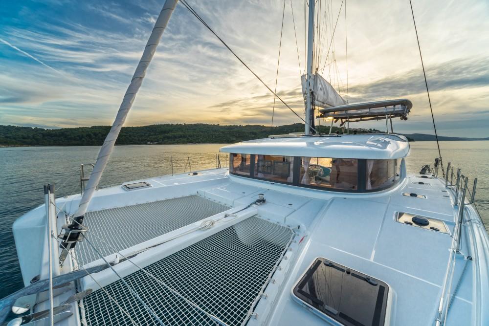 Rental Catamaran in Split - Lagoon Lagoon 42 (2017) MALA KATE equipped with generator, A/C (saloon)