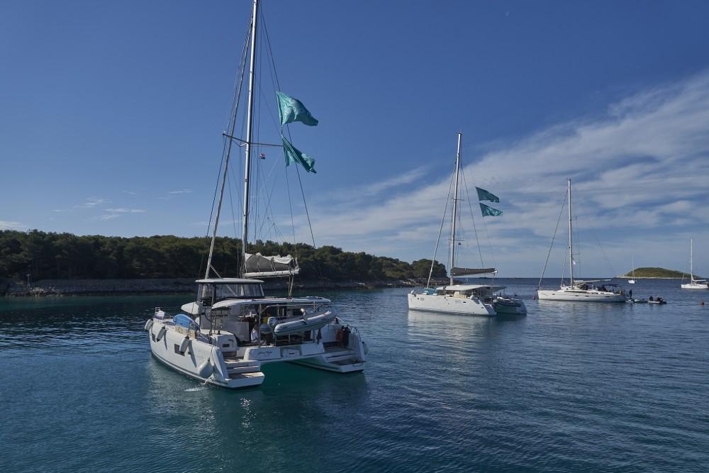 Boat rental Lagoon Lagoon 42 (2017) MALA KATE equipped with generator, A/C (saloon) in Split on Samboat