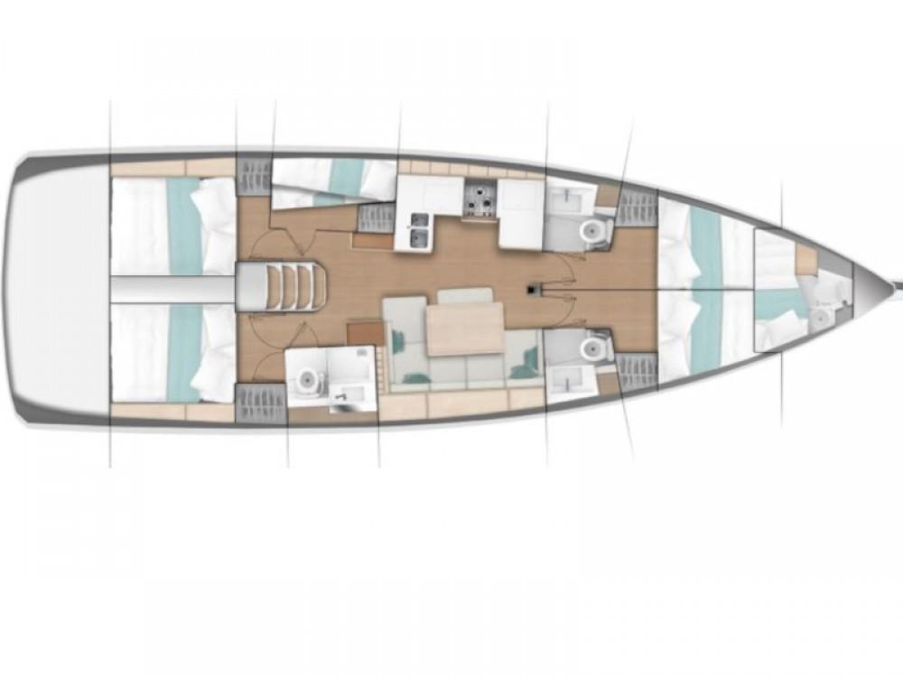 Jeanneau Sun Odyssey 490 between personal and professional Marina di Portisco