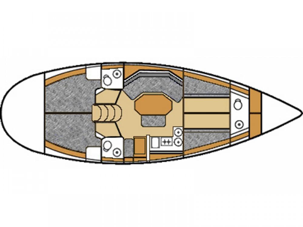 Boat rental  cheap Elan 431