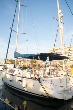 Boat rental Lefkada (Island) cheap Oceanis 43