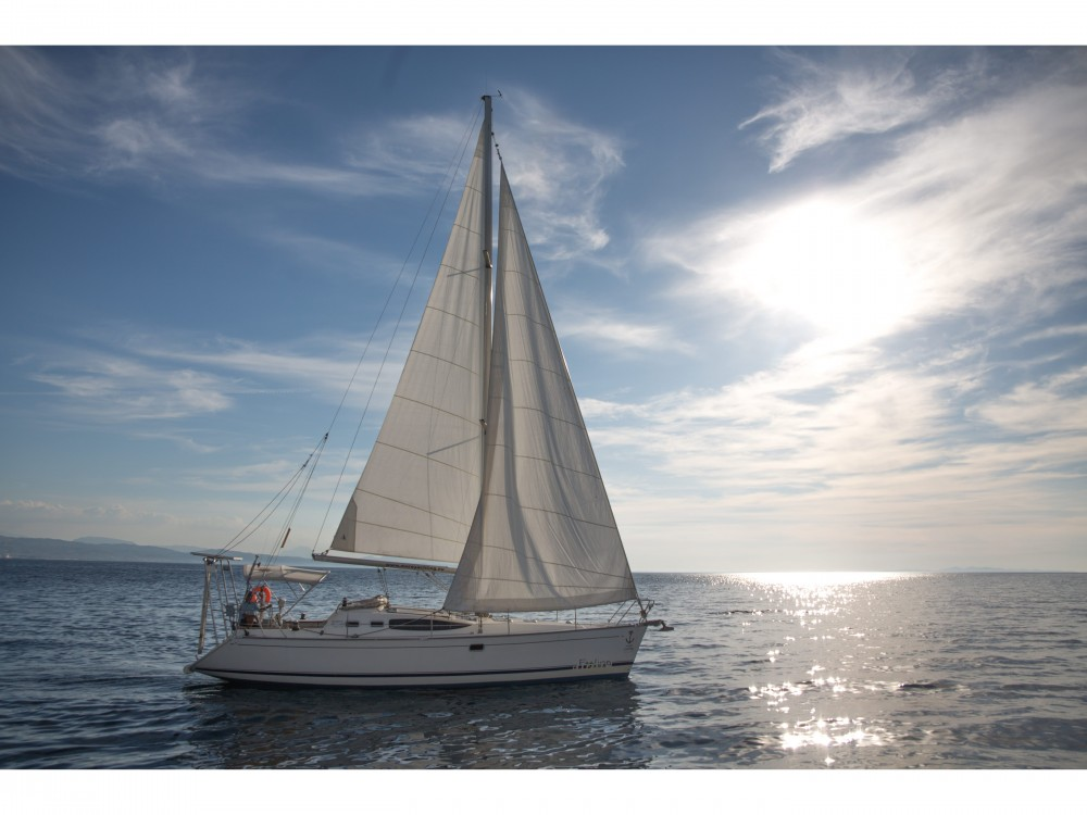 Rental Sailboat Feeling with a permit