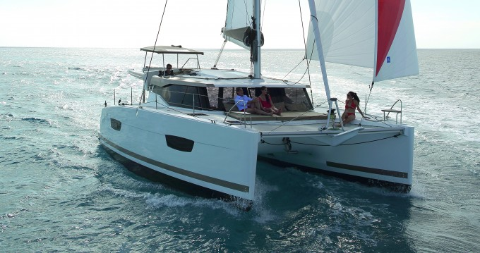 Rental Catamaran in Kaštel Gomilica - Fountaine Pajot Lucia 40