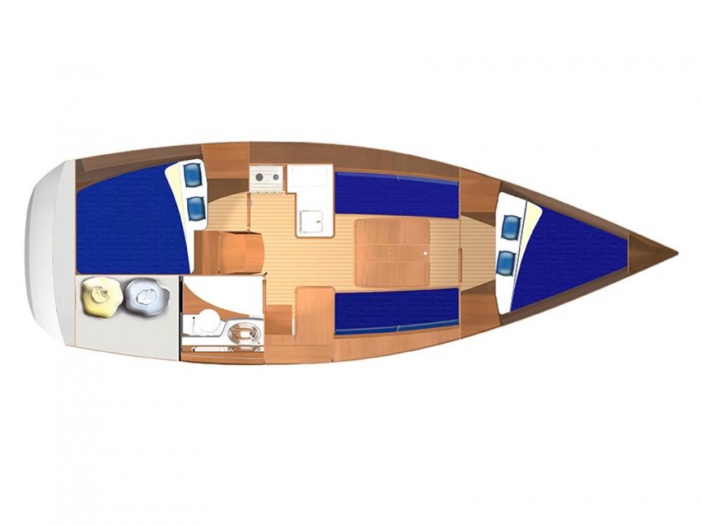 Rental yacht Pula - Dufour Dufour 325 on SamBoat