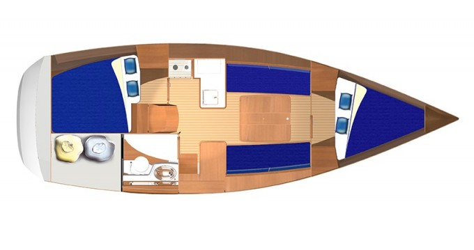 Rental yacht Veruda - Dufour Dufour 325 on SamBoat