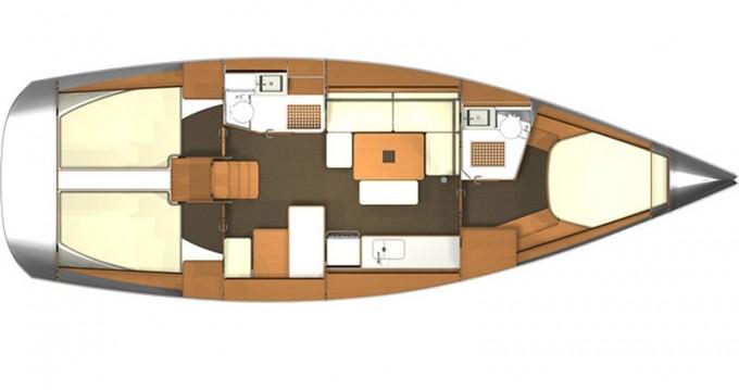 Boat rental Veruda cheap Dufour 405 BM
