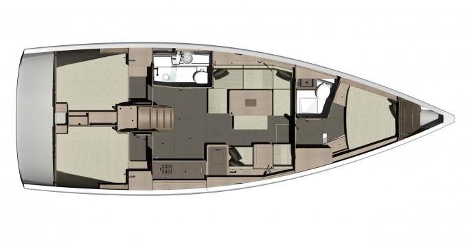 Boat rental Dufour Dufour 410 (3c-2h) in Kaštel Gomilica on Samboat