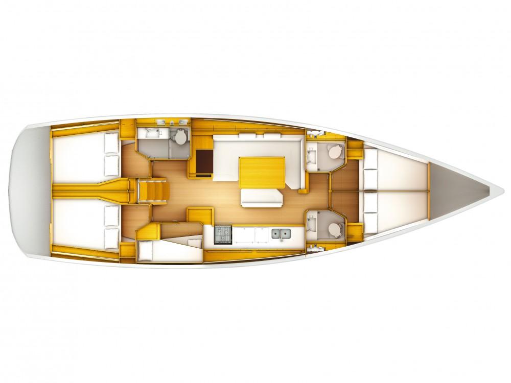 Rental yacht  - Jeanneau Sun Odyssey 519 FM on SamBoat