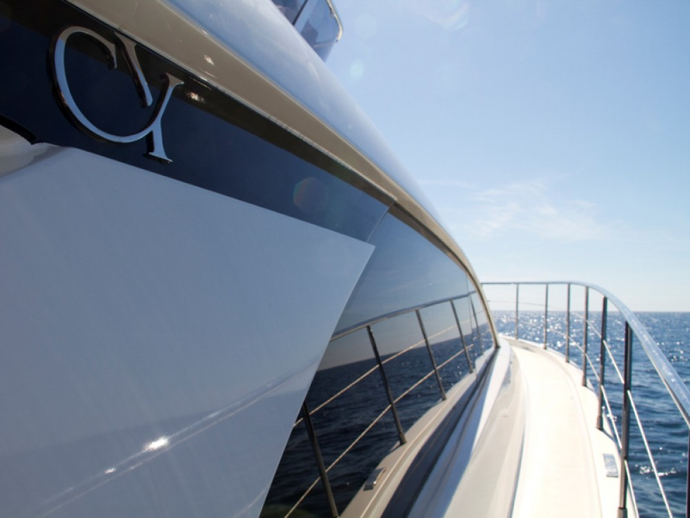 Rental Motor boat in ACI Marina Rovinj - Cyrus Cyrus 13.8 Flybridge