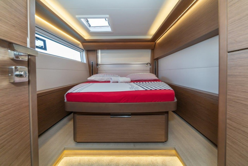 Boat rental Split cheap Lagoon 50 (2018)equipped with airconditioning (saloon + cabins), generator, watermaker, ice maker, dishwasher, washer/dryer, 2 SUP