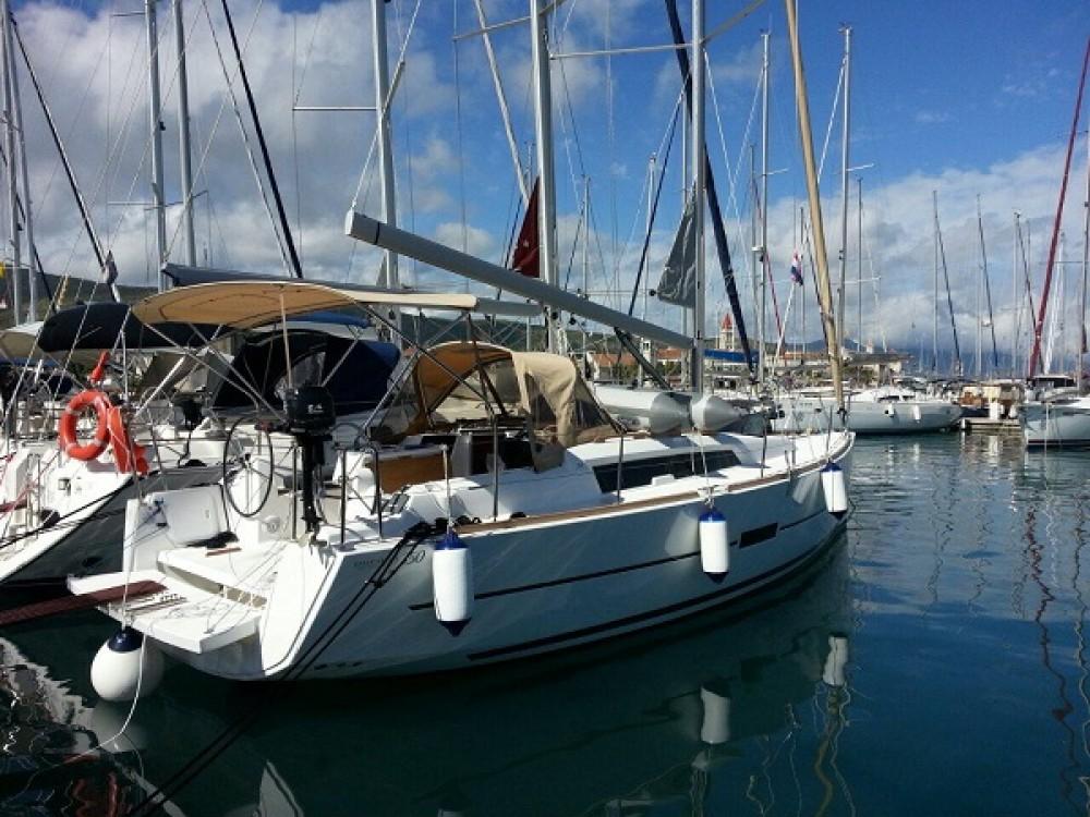 Boat rental Trogir cheap Dufour 350 Grand Large