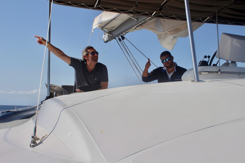 Hire Catamaran with or without skipper Lagoon Capo d'Orlando Marina