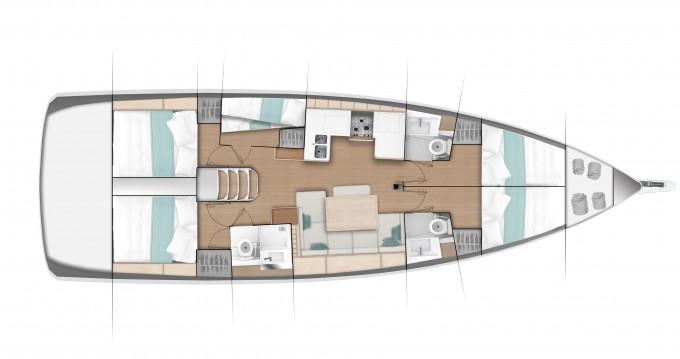 Rental Sailboat in Marina di Portisco - Jeanneau Sun Odyssey 490