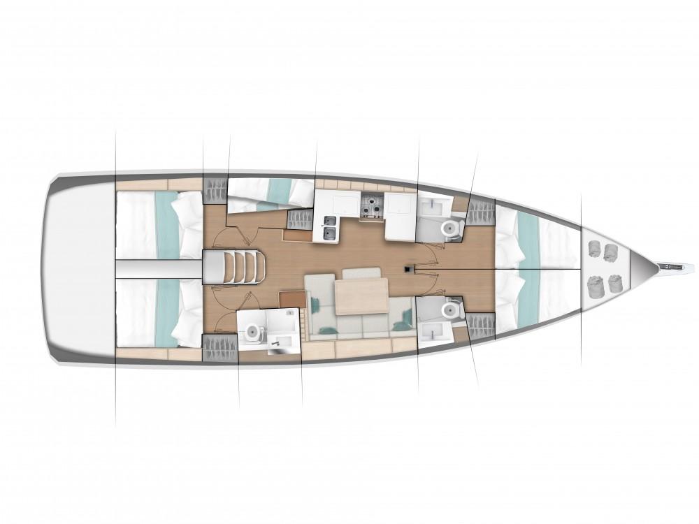 Boat rental Jeanneau Sun Odyssey 490 in Marina di Portisco on Samboat