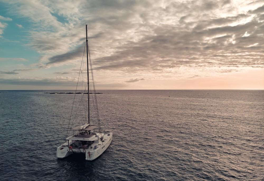 Catamaran for rent Ibiza at the best price