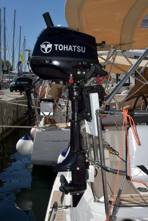 Rental yacht Athènes - Jeanneau Sun Odyssey 389 on SamBoat