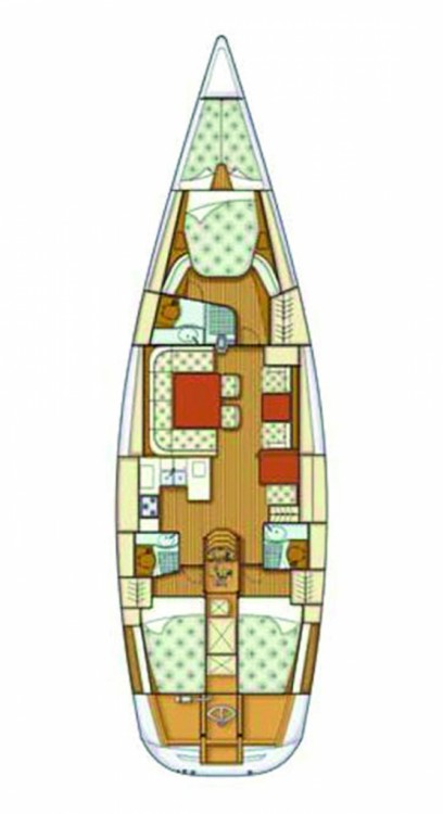 Rental Sailboat in Lu Palau/Palau - Grand Soleil Grand Soleil 56