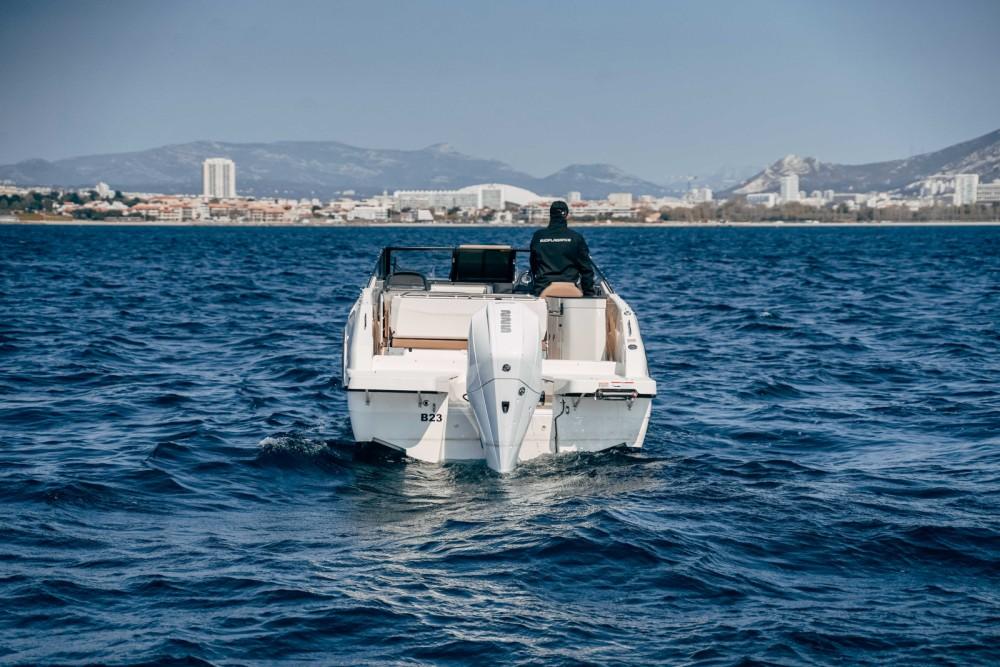 Rental Motor boat in Marseille - Quicksilver Activ 755 Cruiser