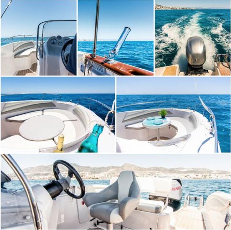 Rental Motor boat in Alcúdia - Quicksilver Quicksilver 600 Commander