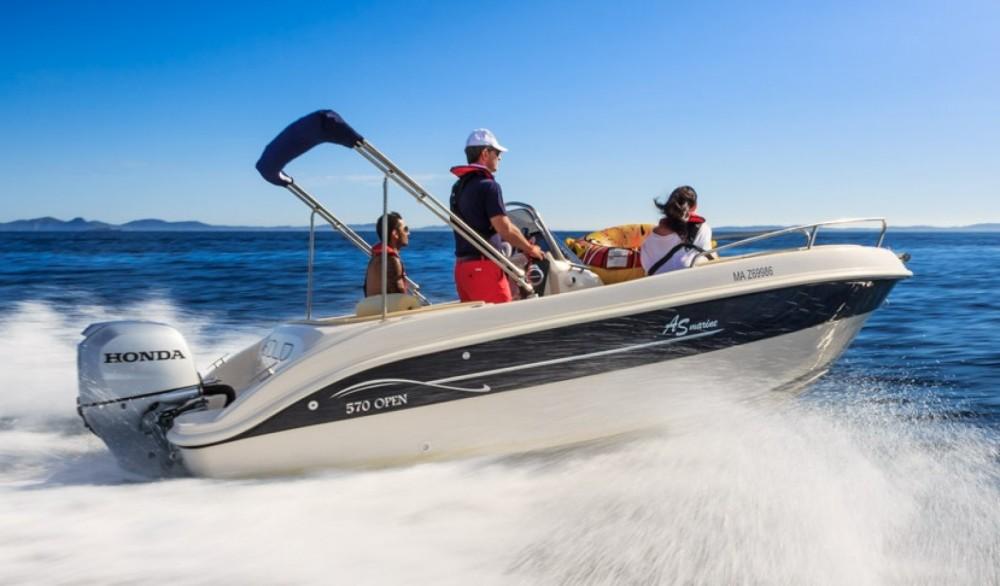 Boat rental As Marine 570 in Moniga del Garda on Samboat