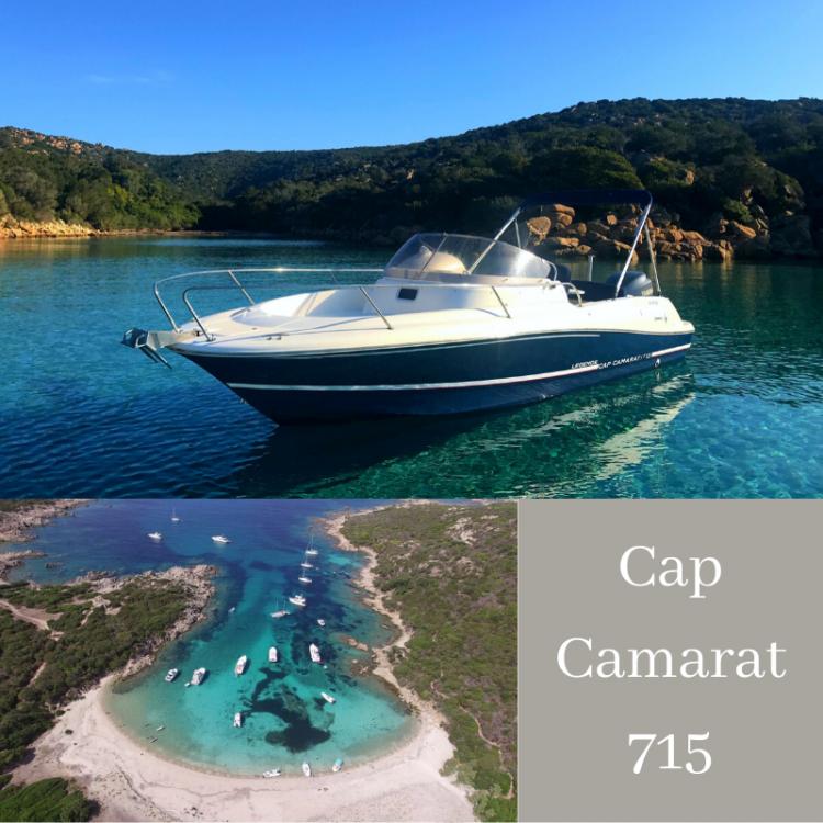 Boat rental Jeanneau Cap Camarat 715 WA in Belvédère-Campomoro on Samboat