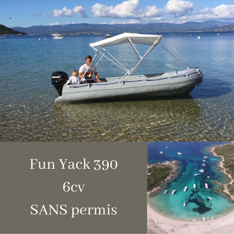 Boat rental Rieti cheap Fun Yak 390