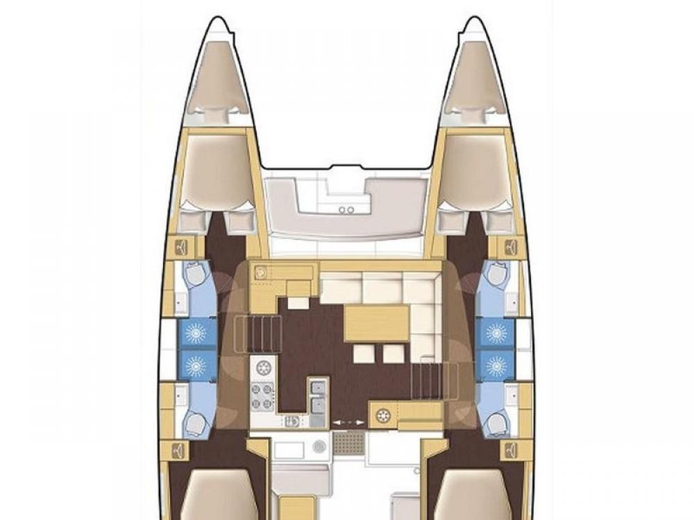Rental Catamaran in Biograd na Moru - Lagoon Lagoon 450  Flybridge