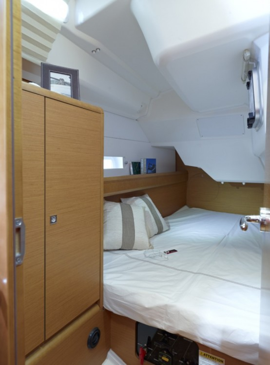 Jeanneau Sun Odyssey 379 between personal and professional St. George's