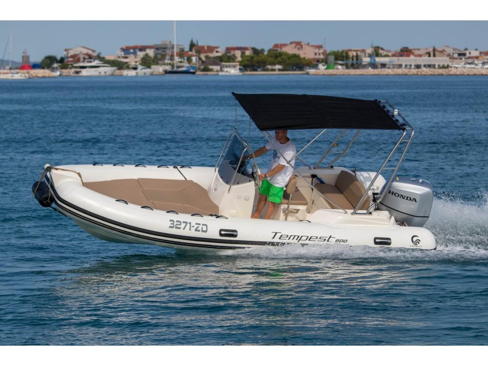 Boat rental Cantiere TEMPEST 600 + Honda 115 in Grad Zadar on Samboat