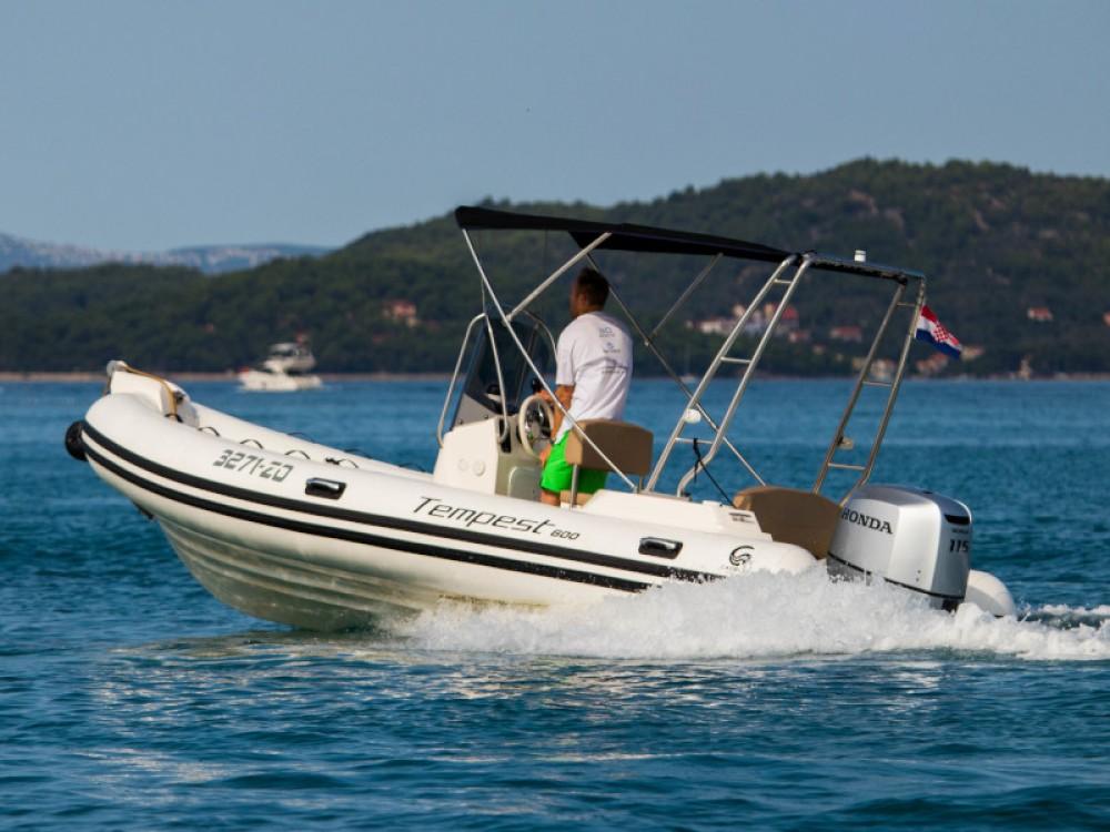 Rental yacht Grad Zadar - Cantiere TEMPEST 600 + Honda 115 on SamBoat