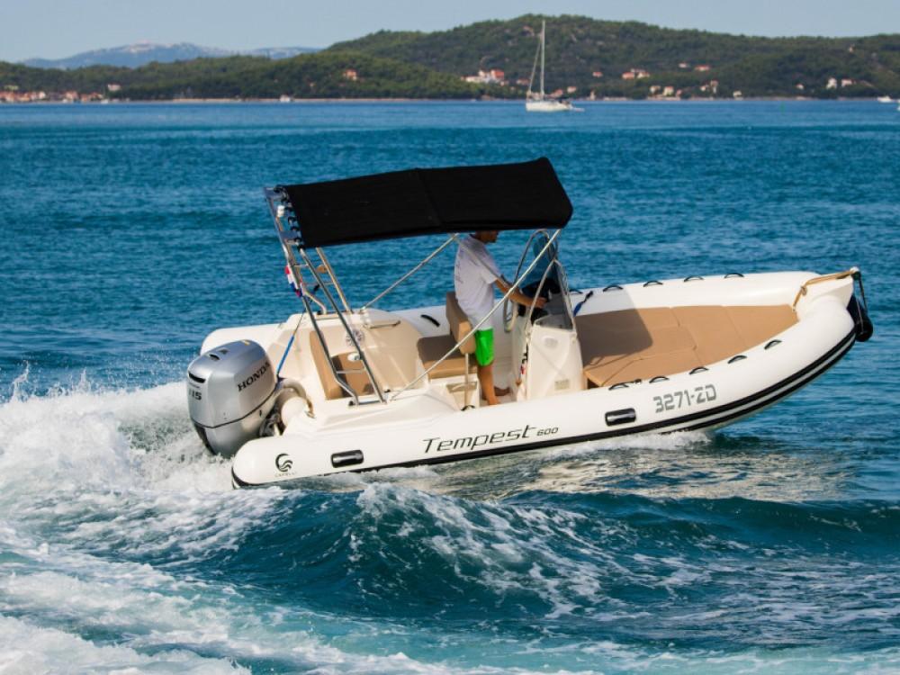 Boat rental Grad Zadar cheap TEMPEST 600 + Honda 115