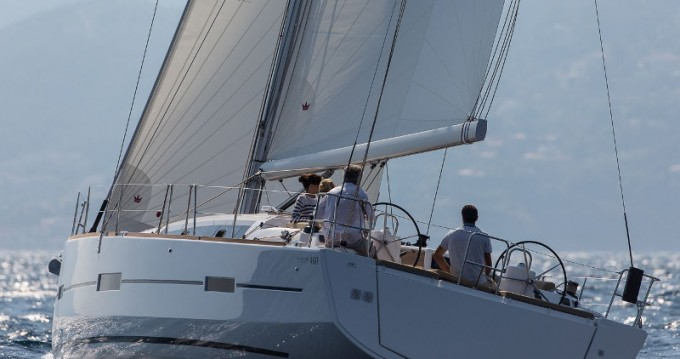 Dufour Dufour 460 Grand Large between personal and professional La Spezia